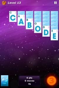 Review: Word Solitaire: Aurora - Scrabble Plus Solitaire?