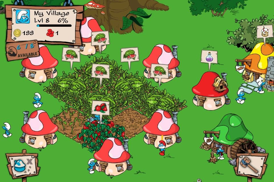 Review: Smurfs' Village - The Smurfs Take On Freemium
