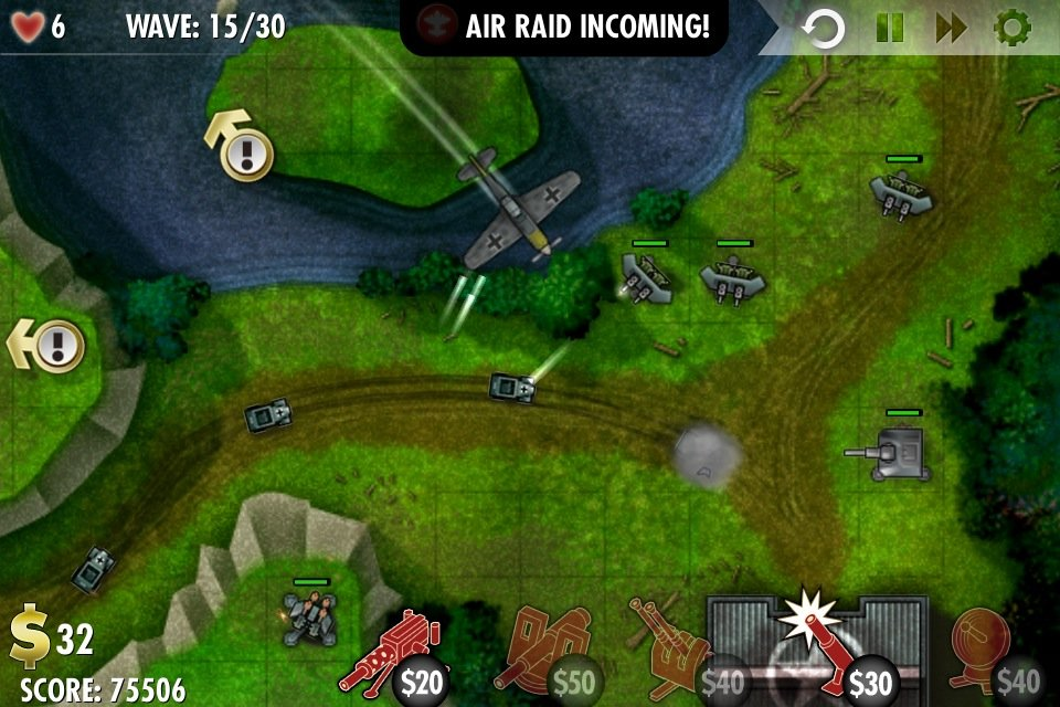 Review: iBomber Defense - It's About Time To Play Some Defense