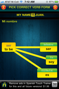 QuickAdvice: Spanish Touch Trainer Helps You Learn Spanish