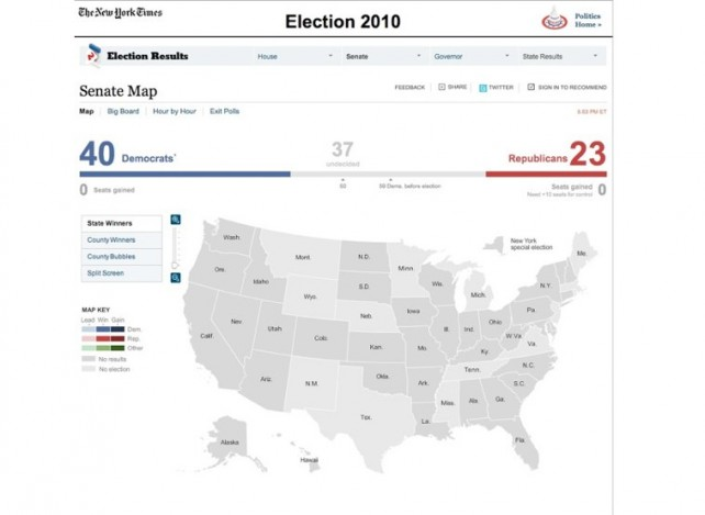 Keep Track Of Midterm Election Results On Your iPad