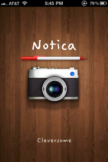 QuickAdvice: Capture Life On Cards With Notica