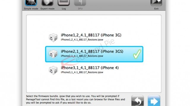 Jailbreak Only: PwnageTool Updated - Safely Update iPhone 3G/3GS Baseband