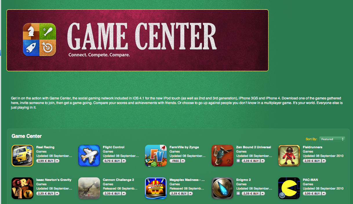 Where is My iPhone's Game Center app? - YouTube