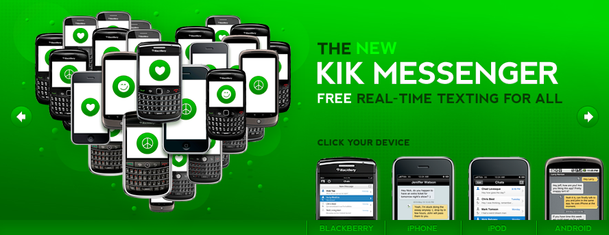 Kik Messenger: A Free IM Client For iOS, BlackBerry OS, And Android