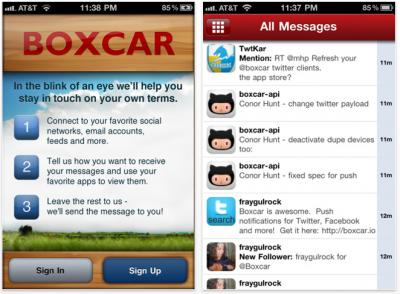Boxcar Updated - Adds Several Great New Features!