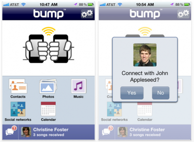 Bump Updated - Adds Music Sharing!