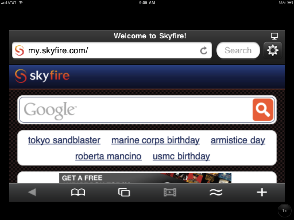 Skyfire Is Being Optimized For iPad - Will You Wait?
