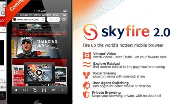 Apple Approves SkyFire Flash-Enabled Browser For iOS