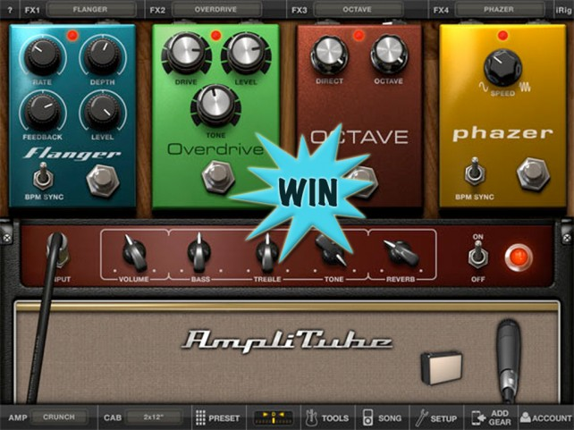 Rock Out On The Go By Winning An AmpliTube For iPhone Or iPad Promo Code