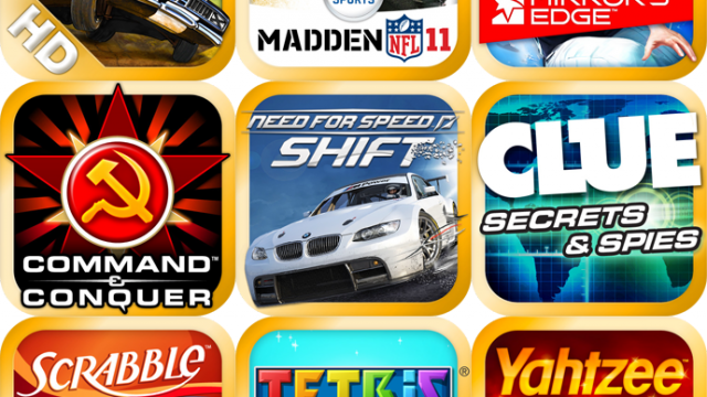 EA Is Having An iPad Game Blowout Sale This Weekend