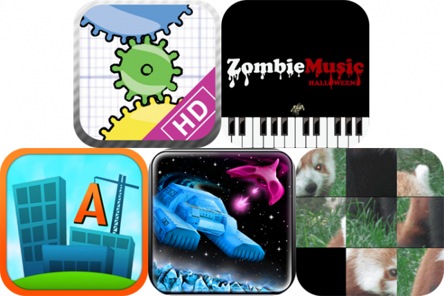 iPhone And iPad Apps Gone Free: Geared For iPad, Zombie Music, Textropolis, And More