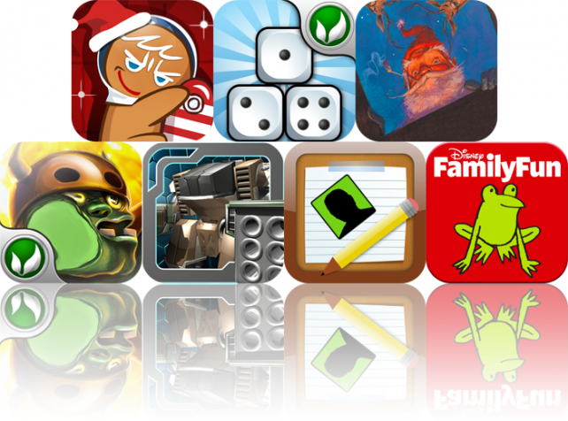 iPhone And iPad Apps Gone Free: OvenBreak-Infinity, Dice Tower, The Night Before Christmas, And More
