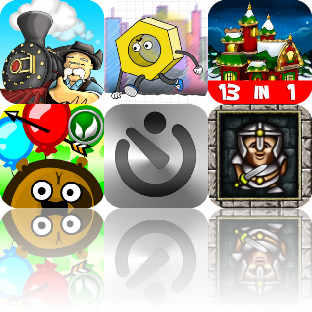 iPhone And iPad Apps Gone Free: Train Conductor, Doodle Screw, Santa's Christmas Village, And More