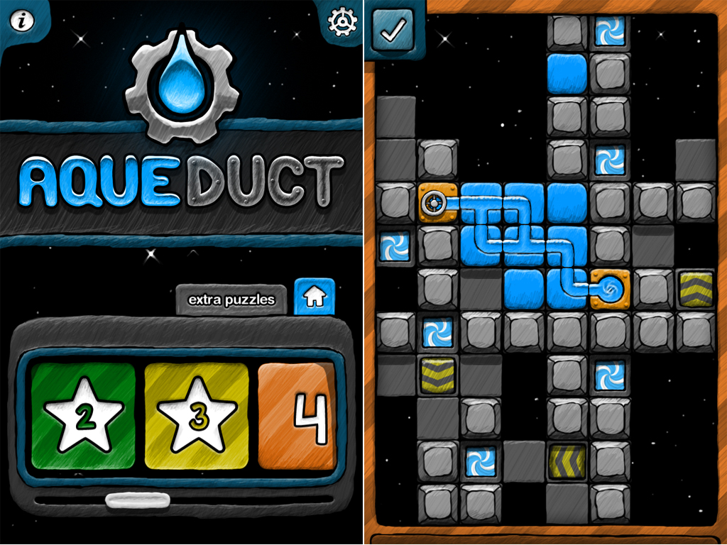 Aqueduct Joins The Game Center Crowd, Plus A Few Other Extras