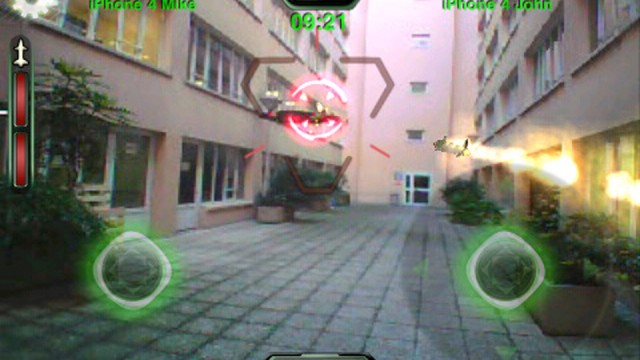 AR.Pursuit: The First Multiplayer Game For The AR.Drone Is Now Available In The App Store