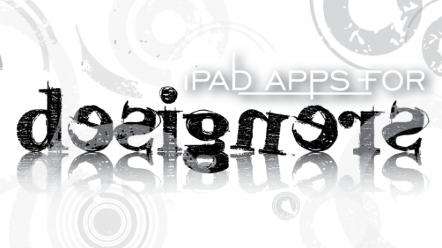 New AppList: iPad Apps For Designers