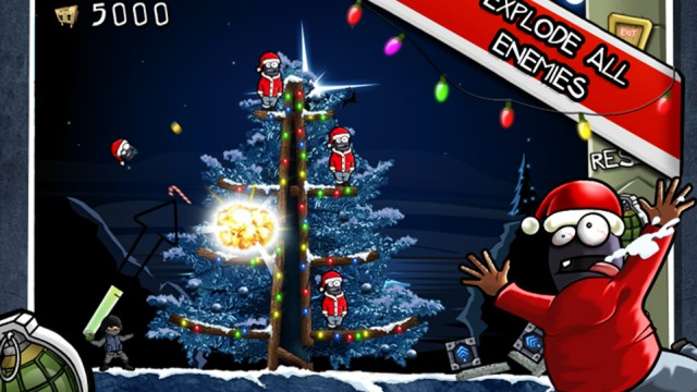 Get The Fraggin' Holiday Started With Miniclip's Fragger v1.5