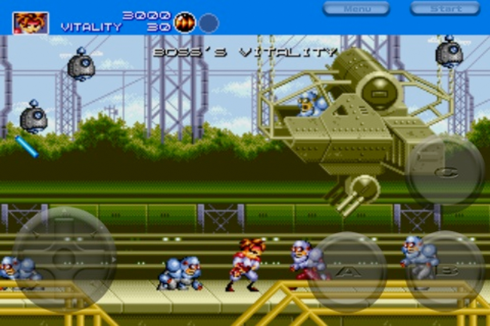 Sega's Gunstar Heroes Joins Other Classic Ports In The App Store