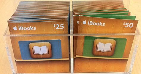 iBook Gift Cards Now Available!