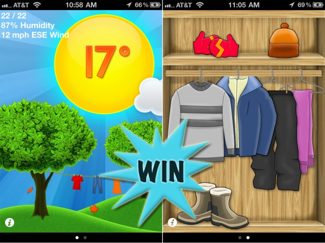 A Chance To Win An iDress For Weather (Universal) Promo Code With A Retweet Or Comment