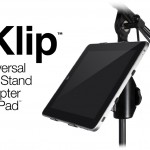 IK Multimedia Introduces iKlip: A Universal Mic Stand Adapter For iPad