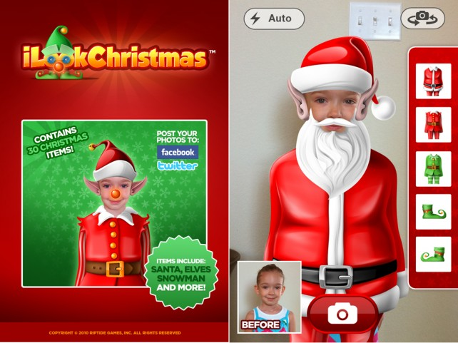 iLookChristmas Makes You Appear In The Holiday Spirit At The Low Cost Of Free