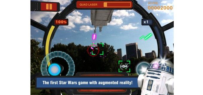 Star Wars Arcade: Falcon Gunner Available Now In The App Store
