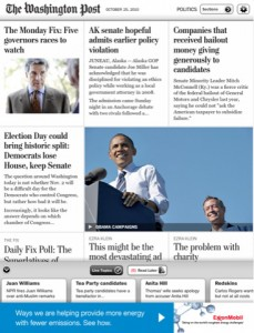 Washington Post App For iPad Content Is Free, For Now