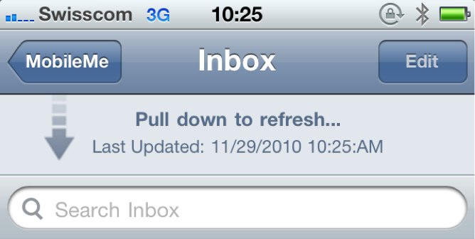 Jailbreak Only: Pull To Refresh Comes To Mail App At Last