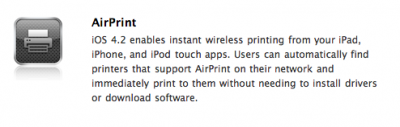 Unconfirmed: Apple Cancels Major AirPrint Functionality