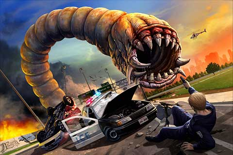 Preview: Death Worm & Sliverfish Submitted To Apple And Trailers Released