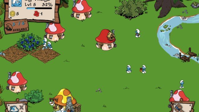 Help Rebuild The Smurfs' Village In Capcom's New Simulation Game