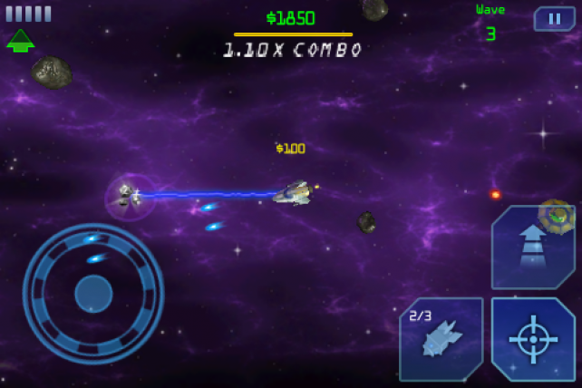 Space Miner Blast Hits The App Store For Free; Space Ore Bust On Sale