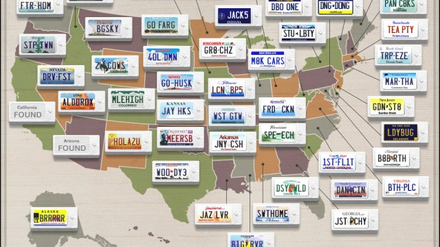 Taking A Road Trip? Keep The Kids Entertained With State Plate For iPad