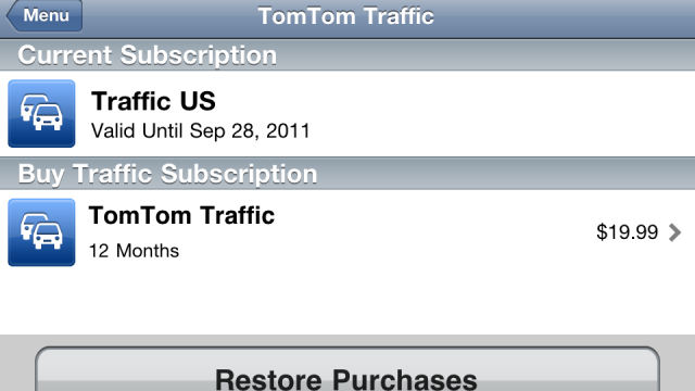 TomTom To Extend Traffic Subscriptions For Affected Users