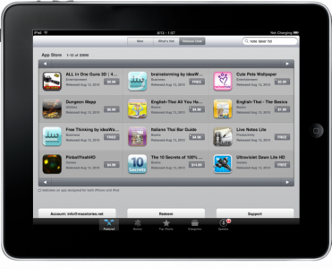 The Very Best iPad Apps Of 2010