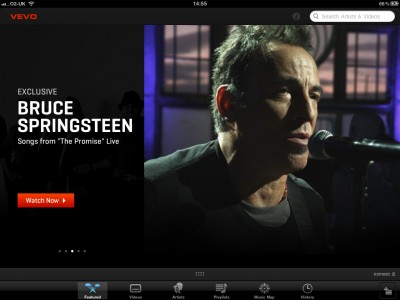 VEVO HD: Enjoy The Entire VEVO Catalog On Your iPad