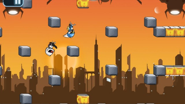 Review: Gravity Guy - Gravity Defying Cop Chase