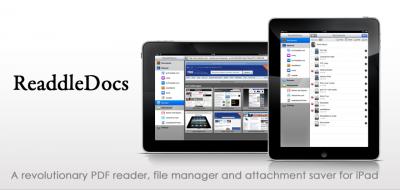ReaddleDocs 1.7 for iPad - iOS 4.2 Ready