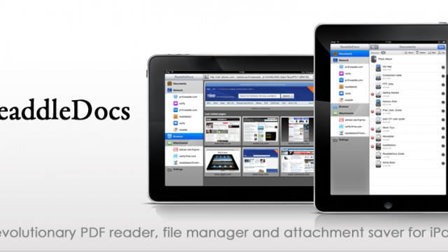 ReaddleDocs 1.7 for iPad - iOS 4.2 Ready