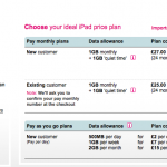 UK Only: T-Mobile Now Retailing 16GB iPad + 3G Devices For £200?