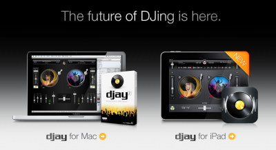 Djay For iPad Hits App Store