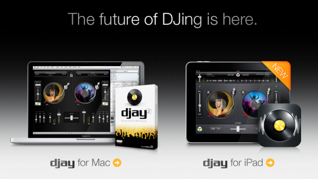 Djay For iPad Hits App Store