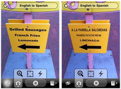 Word Lens: Instantly Translate Any Text, Using Your iPhone's Camera
