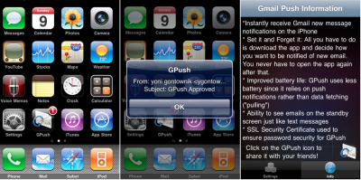 GPush Service Scheduled To End December 31
