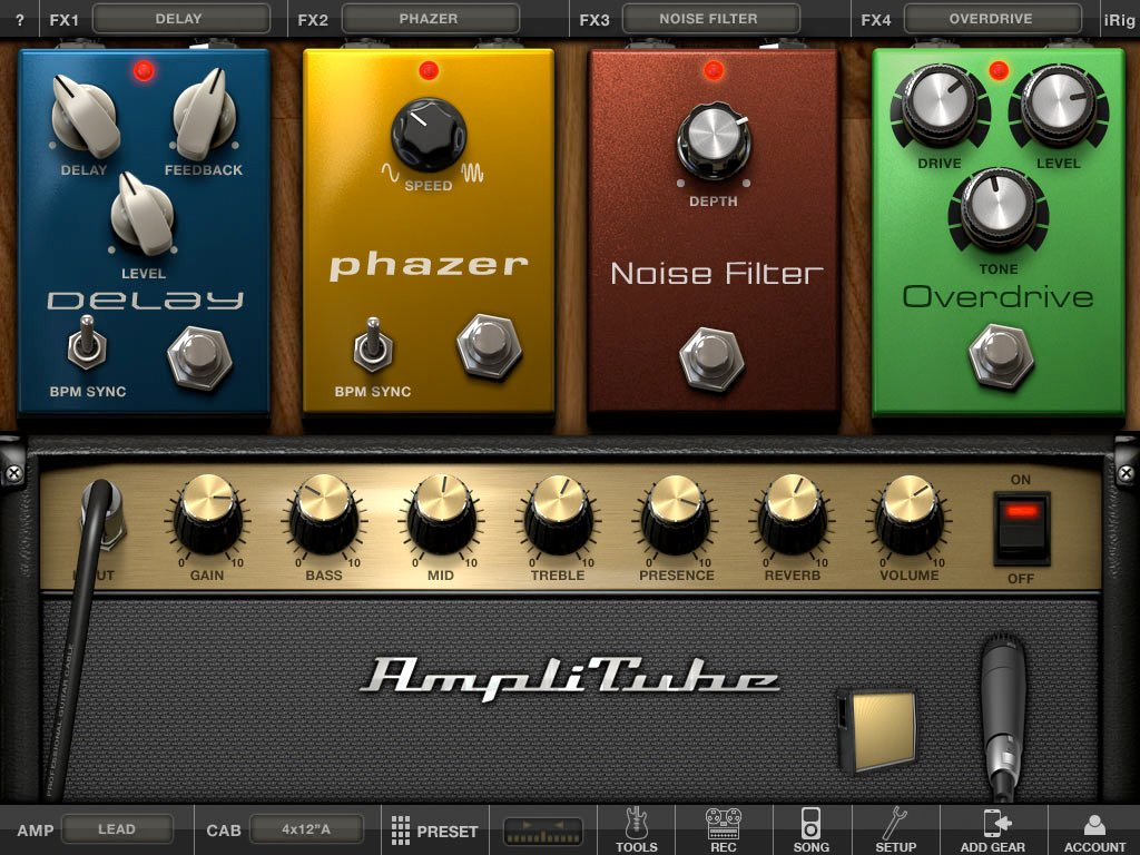 AmpliTube 2 For iPad Slides Into The App Store Just In Time For The Holidays