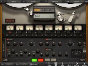 AmpliTube version 2.0 (iPad) - Track Recorder