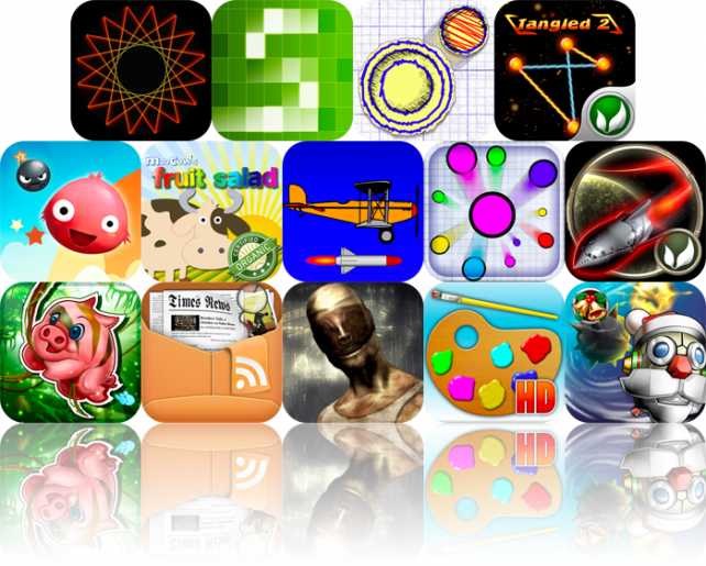 iPhone And iPad Apps Gone Free: Geometrica, Blue Hole 3D, Doodle Hockey, And More