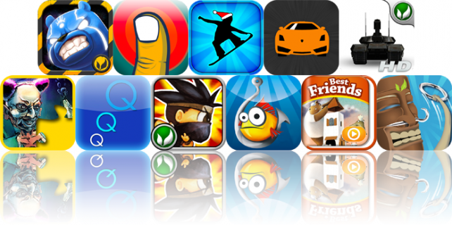 iPhone And iPad Apps Gone Free: Battle Bears -1, Finger Balance, Crazy Snowboard, And More